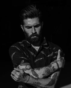 Model: Magazine hosting & promoting the best beards since Make sure to join our community and share the movement. Contact: Beardspot by beardspot Beard Pictures, Beard Images, Barba Sexy, John Millington, Chris John, Types Of Beards, I Love Beards, Beard Haircut, Hipster Beard