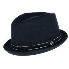 30ec826f239 Kenny K Men s Upturned Brim Fedora with Hatband