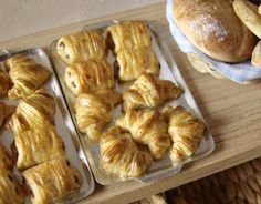 Miniature Food - Croissants | Flickr - Photo Sharing!
