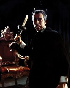 """Christopher Lee in """"The Horror of Dracula"""" by Terence Fisher (1958)"""