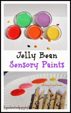 Jelly Bean Sensory Paints