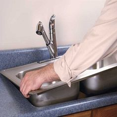 Has your kitchen sink started to give out a worn out look