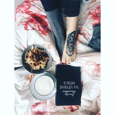 Paw tattoo,vegan breakfast #pawtattoo