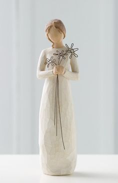 Buy the heartwarming Willow Tree Grateful statue from New Age Markets, based on original hand carved sculptures by artist Susan Lordi. Willow Tree Statues, Willow Figurines, Angel Sculpture, Sculpture Art, Sculptures, Willow Tree Engel, Willow Tree Figuren, Tree People, Sauce