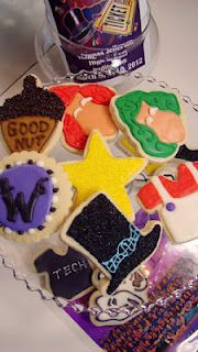 Willy Wonka theater cookies