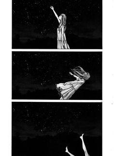 aiko, dress, and beatiful image Art And Illustration, Dark Art Illustrations, Manga Art, Manga Anime, Anime Art, Bonne Nuit Punpun, Anime Negra, Art Sketches, Art Drawings