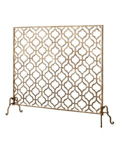 I mean, this is awesome- but $400 for a fireplace screen?! Lexington Single-Panel Fireplace Screen - Neiman Marcus