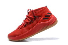 new style b085b c5758 adidas Dame 4 Red Gum ScarletHigh Resolution Red-Black Singapore For Sale –
