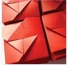 Invitación de Casamiento realizada con la técnica Origami