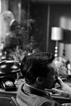 I find a man that smokes a cigar pretty sexy...