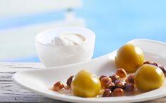 Ristede figner med hasselnødder Kan en dessert være så nem at lave og samtidig så lækker....ja!