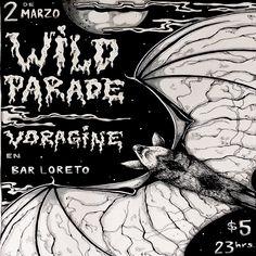 """Wild Paradeestá de regreso este 2017. El trío de Hard Rock Grungie compuesto por Sam-Antaños-Nes traerán a los escenarios de Bar Loreto su más reciente EP, """"PSYCHOFICTION"""" (grabado por el mítico Jack Endino) y editado en CD (prontamente en vinilo) a través de la alianzaFURIA Discos – No-Reverse Records. Y para que no falte ni …"""