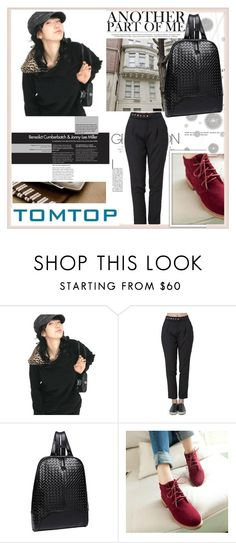 """""""TOMTOP+ 34"""" by damira-dlxv ❤ liked on Polyvore featuring Komar and vintage"""