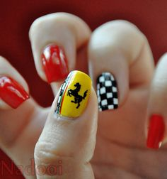 Ferrari Nails