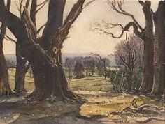 Lot 37 Claude Muncaster 'View from the Fifth Tee, Cowdray', watercolour New Objectivity, Watercolor, Studio, Artist, Painting, Collection, Blog, Pen And Wash, Watercolor Painting