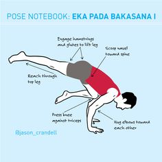 This variation of Bakasana will test your strength, your patience, and your humility. But one key action can help immensely.