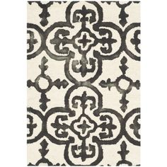 Found it at Joss & Main - Louisa Ivory & Charcoal Oriental Wool Hand-Tufted Area Rug