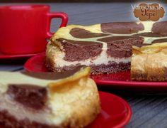 Dvojfarebný cheesecake
