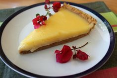 Tarta de Lemon Curd - Cocinillas.es
