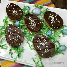 Chocolate Covered Peanut Butter Eggs | Walking on Sunshine