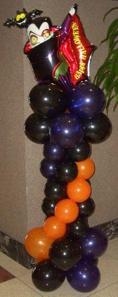 Nice Halloween balloon deco!