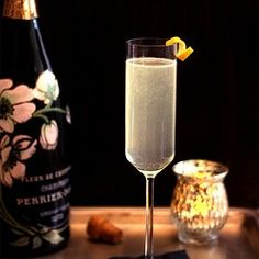 French 75 - an Elegant Champagne Cocktail — Punchfork