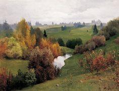 И. Левитан Пейзаж