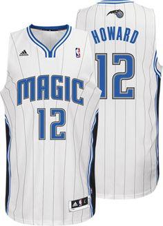Orlando Magic Dwight Howard 12 White Authentic NBA Jersey Sale