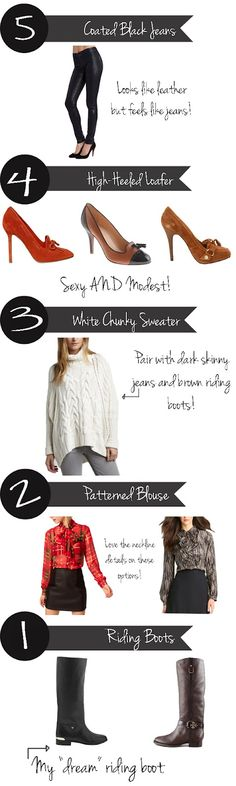 Marionberry Style: Top 10 Fall Essentials (Part II)