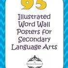 Finally, graphic definitions for middle school and high school English Language Arts, Reading, and Writing!!All 95 colored posters have pictures ...