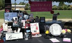 Mary Kay!!! Table made by Lynnae Bowen my Director