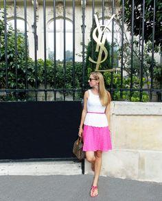 Lilly Pulitzer, Paris, Louis Vuitton, Christian Dior, outfits, PB in Paris