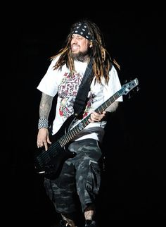 "Reginald ""Fieldy"" Arvizu Photos Photos - Reginald 'Fieldy' Arvizu of Korn…"