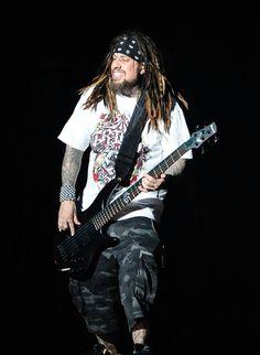 "Reginald ""Fieldy"" Arvizu Photos Photos - Reginald 'Fieldy' Arvizu of Korn…"