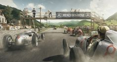 These stunning prints bring motorsport history to life   Classic Driver Magazine