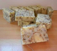 Homemade Soap Recipes Using Cold Process. Site actually has instructions and photos for different types of soaps. Not just stuff for sale. Must revisit.