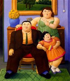 High quality Oil painting Canvas Reproductions Family by Fernando Botero hand painted. Frida Diego, Naive Art, Famous Artists, Figurative Art, American Art, Art Gallery, Poster, Paintings, Google Search