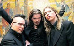 left>right: Paavo, Perttu, Eicca Well, damn, boys!  Wouldn't mind seeing that when I got home.