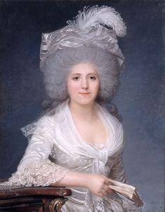 Portrait of Jeanne-Louise-Henriette Campan (1752-1822), 1786. Joseph Boze (French, 1745–1826). Pastel. Chateau de Versailles.
