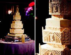 Art Deco Wedding Cake - Sugar Realm, Fine Bakery & Cake Design