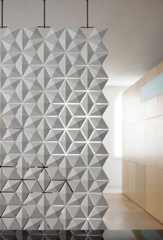 LOVE this room divider for entry!