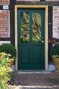 Haustüren landhausstil grün  12 coole Design Ideen für attraktive Haustüren - #Dekoration ...