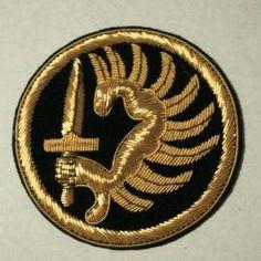 フランス陸軍外人部隊エンブレムゴールド