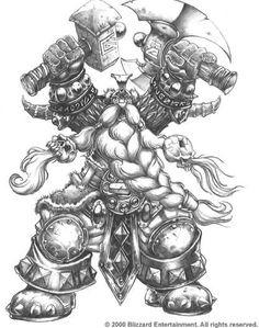 http://samwisedidier.deviantart.com/art/Warcraft-Muradin-the-Mountain-King-450463070