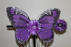 Hey, I found this really awesome Etsy listing at https://www.etsy.com/listing/114268132/purple-monarch-butterfly-wings-matching