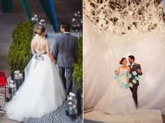 Museum wedding by Raphael's Party Rentals