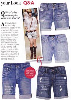 DIY Clothes DIY Refashion DIY  We need to learn to make these shorts