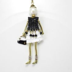 French Doll Necklace | Ruby Moon Jewellery $45