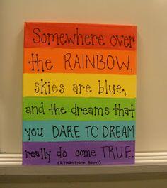 my rainbow room!