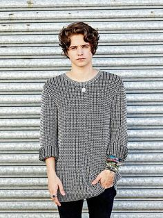 I really want his jumper - in a non creepy way...